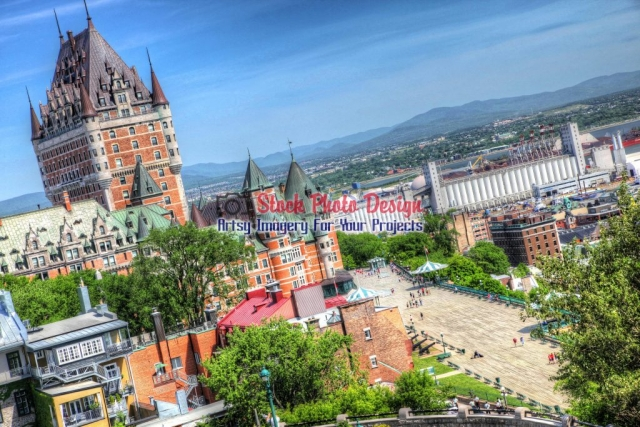 Quebec-City-Frontenac-Castle Image