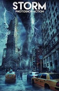 Storm Photo Effects Using Photoshop