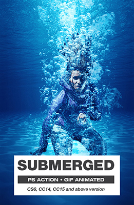 Submerged Photo Effects Using Photoshop