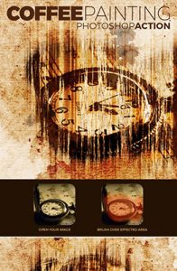 Coffee Effect Photo Effects Using Photoshop