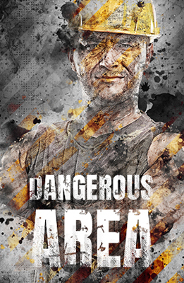 Dangerous Area Photo Effects Using Photoshop