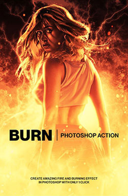 burn Photo Effects Using Photoshop