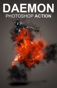 daemon Photo Effects Using Photoshop