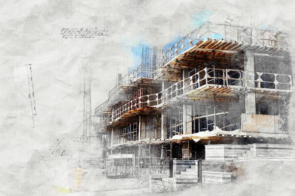 Construction-Project-Sketch-Image